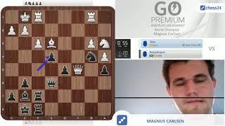 (unfiltered) Magnus Carlsen Playing Blitz Online vs Tapu(2773)