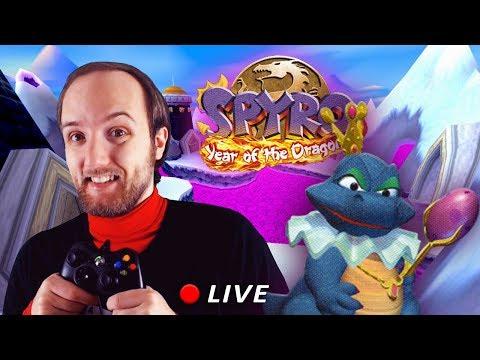 Spyro 3 -  LIVE - verso il 100%