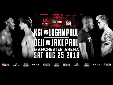 KSI VS. LOGAN PAUL OFFICIAL LIVE STREAM