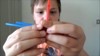 Cool straw magic trick (revealed)