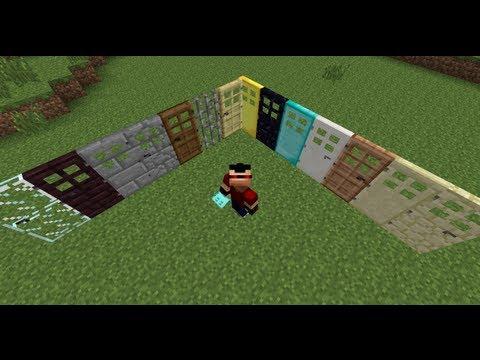 Minecraft MOD | Puertas RE-LOCAS (Extra Doors)