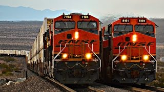 Arizona Trains! BNSF Crozier Canyon!