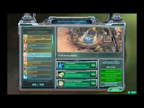 Starcraft Ii: Wings Of Liberty Campaign   Brutal Difficulty   All Achievements   Commentary video