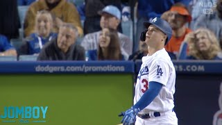 Joc Pederson hits a home run vs Hunter Strickland in Game 1 of the NLDS, a breakdown