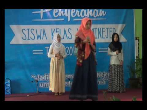 MTs Negeri 6 Sleman Yogyakarta  VOICE tampil di  MIN JEJERAN BANTUL DIY.wmv