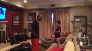 Tyrese Gibson Teaches His Daughter Self Confidence