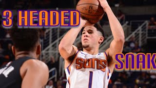 Devin Booker mix ~ 3 headed snake