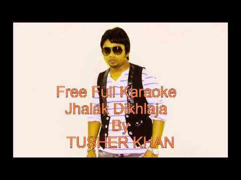 Himesh reshammiya Jhalak Dikhlaja Full Karaoke F:t Tusher khan...