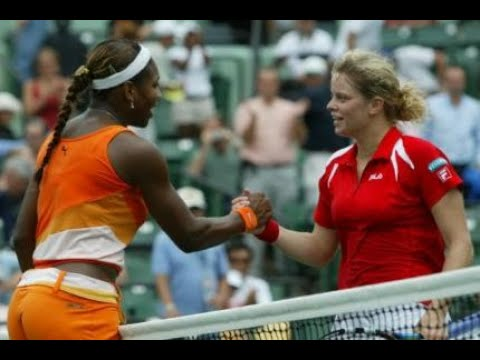 Serena Williams vs Kim Clijsters 2003 Miami Highlights
