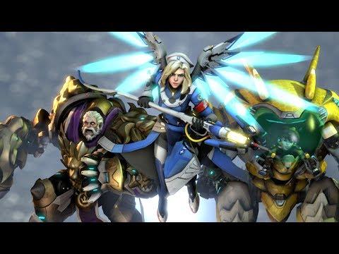 Overwatch - Craziest Teamwork Plays!