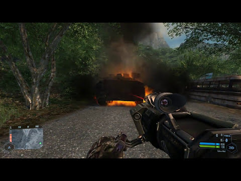 Gameplay Crysis Warhead (Trainer)