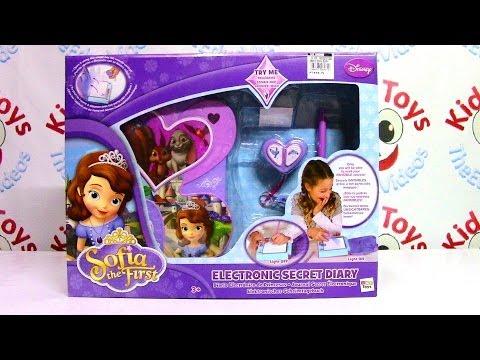 Disney Princess Sofia the First Electronic Secret Diary by IMC Toys