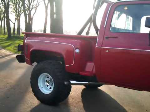 chevrolet scottsdale 10 stepside with stainless steel side 1976 chevy van g20 free wiring diagram #7