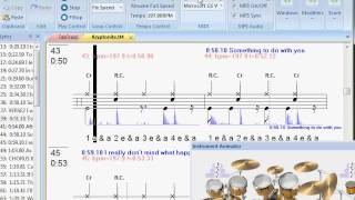 3 Doors Down - Kryptonite drum lesson with tab sync'ed to original song