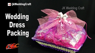 wedding dress packing |  How to pack Wedding Dress | JK Wedding Craft 120