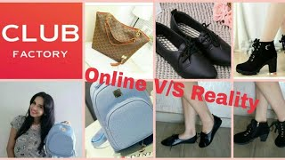 CLUB FACTORY HAUL & SALE | Bags & Shoes | Shipping, Quality, Sizing in Hindi | Discount Code
