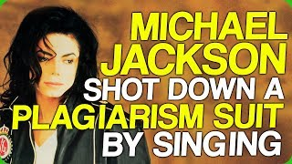 Michael Jackson Shot Down a Plagiarism Suit by Singing