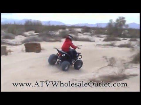 Chinese 250 ATV gettin wild in Baja Mexico