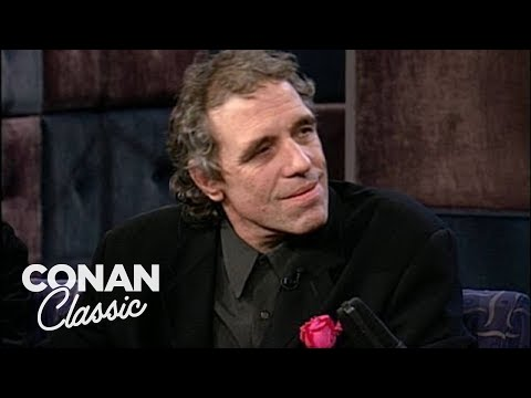 "Abel Ferrara On ""Late Night With Conan O'Brien"" 10/23/96"