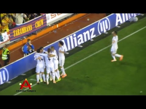 GARETH BALE goal live FINAL COPA DEL REY - BARCELONA vs REAL MADRID