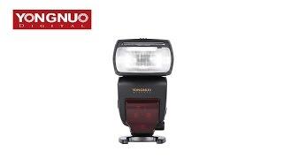 Yongnuo Speedlite YN685 Blitzgerät für Nikon mit i-TTL, HSS, Funk-Empfänger und Gruppensteuerung