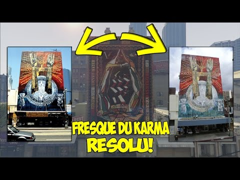 (GROSSE EXCLU!) LA FRESQUE DU KARMA RÉSOLU! EASTER EGG! GTA 5 MYSTÈRE! thumbnail
