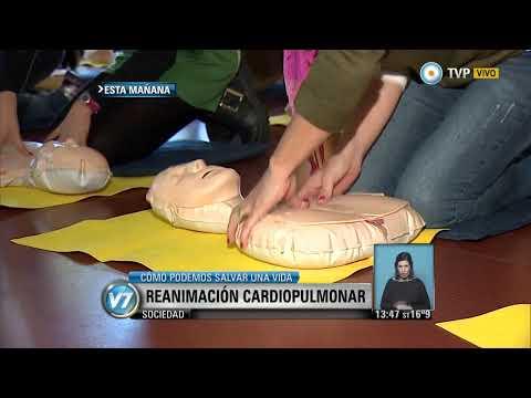 Visión 7 - Curso de Reanimación Cardiopulmonar en el Garrahan