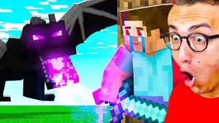 Reacting To WORLD'S MOST INSANE MINECRAFT ANIMATION!