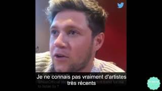 Niall Horan Twitter Questions and Answers - VOSTFR Traduction Française