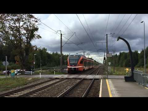 [ELRON] commuter train Tallinn → Aegviidu calling Lahinguvälja halt.