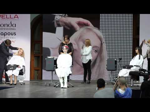World of beauty Moscow 2013 sassoon part 2