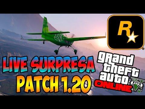Live Surpresa Gta V Ps4 Online ◘ Patch 1.20 ■ Rockstar Fdp video