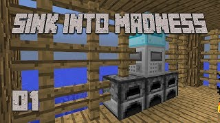 ►BEST START EVER! | Sink Into Madness #1 | Modded Minecraft◄ | iJevin