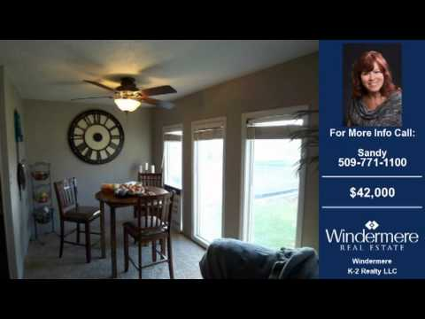 Factory Built Homes For Sale Moses Lake WA $42000 1200-SqFt 2-Bdrms 1.75-Baths