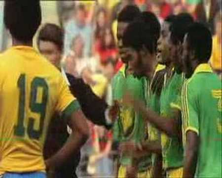 Brazil -- Zaire, Football WC 1974