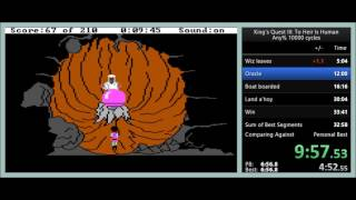 King's Quest 3: To Heir is Human any% speedrun in 31:28