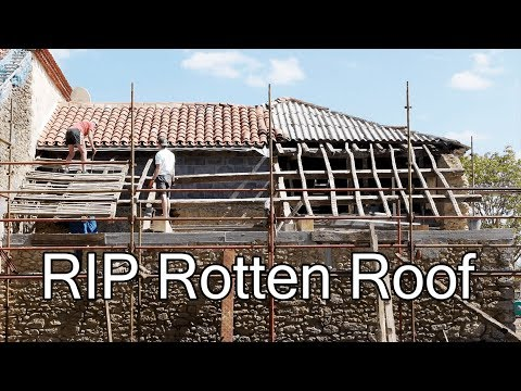 DIY ROOF: OUT WITH THE OLD