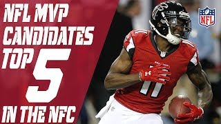 Top 5 2017 NFL MVP Candidates in the NFC | Total Access | NFL