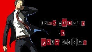 The Problem with Tohru Adachi (vs. Goro Akechi)