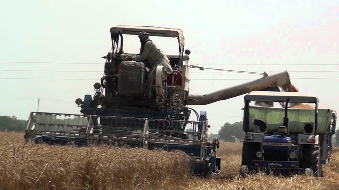 Tractor Wallpaper hd Tractor Combine in Punjab hd