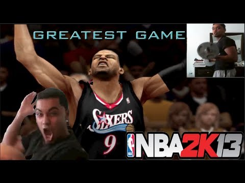 NBA 2k13 MyTEAM FaceCam - Greatest Game EVER | EPIC REACTION - Live Commentary