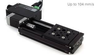 Motorisierter Miniatur-Lineartisch der X-LSM Serie – Zaber – Laser 2000