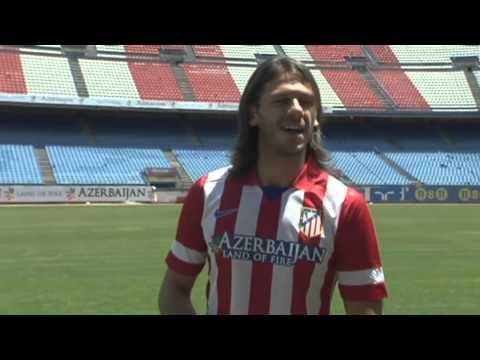 Martin Demichelis Atletico Madrid press conference