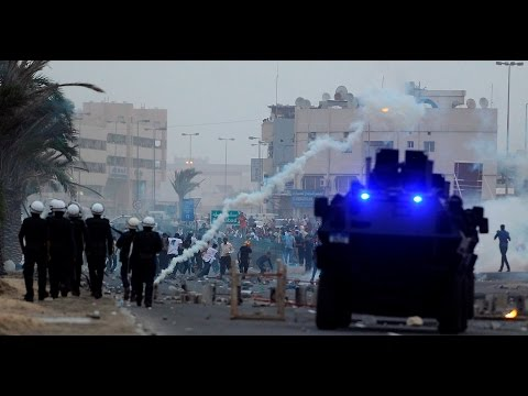 Bahrain : 2nd day of protests and clash with Riot police denouncing execution of sheikh Nimr al-Nimr