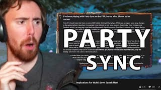 Asmongold Reacts To Bellular BRILLIANT! Patch 8.2.5's Surprise - Party Sync