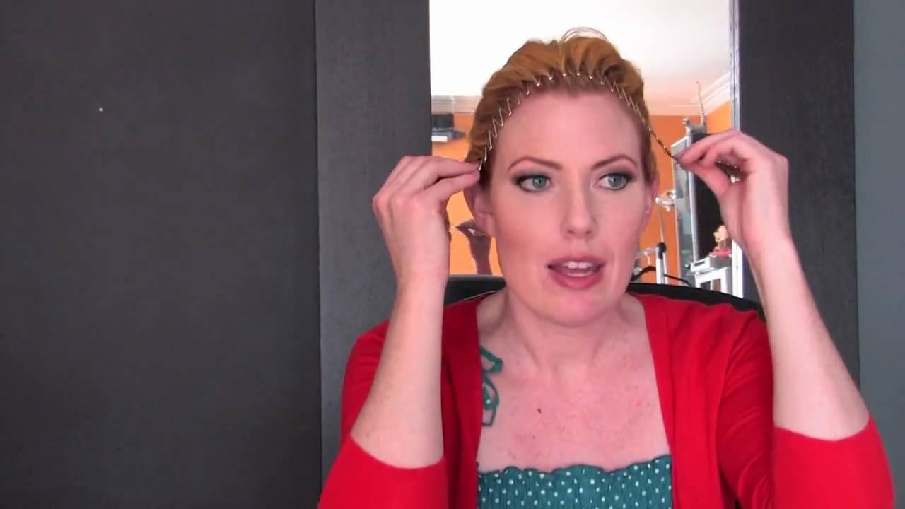 Hairstyle Tips Accordion Headband Youtube