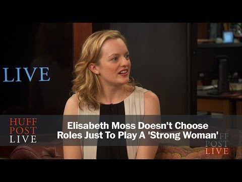 Elisabeth Moss Doesn't Choose Roles Just To Play A 'Strong Woman'