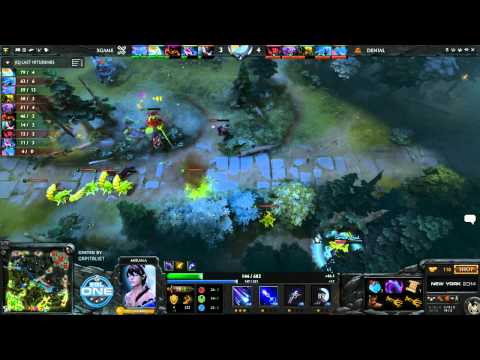 xGame vs Denial Game 3 - ESL One New York EU Qual - @DotaCapitalist & @CWMDota