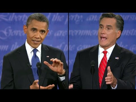 First Presidential Debate: Obama Vs. Romney (complete Hd - Quality Audio) video