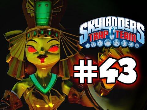 SKYLANDERS TRAP TEAM GAMEPLAY WALKTHROUGH - PART 43 - The GOLD Queen!